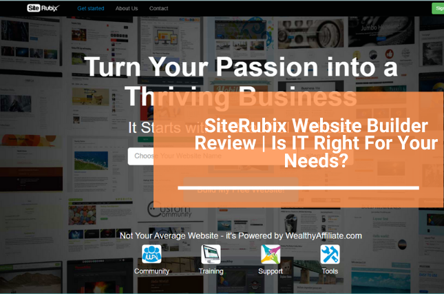 Siterubix website builder review